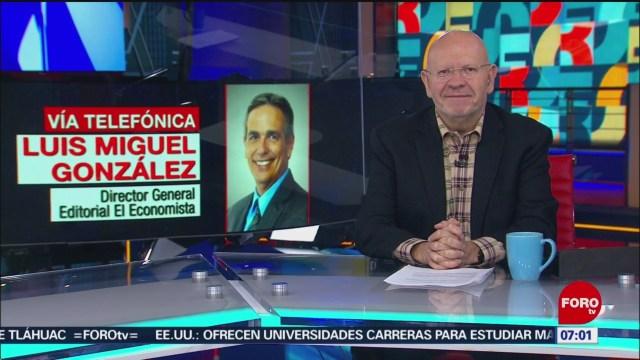 Calificación S&P a Pemex no es sorpresa, dice Luis Miguel González