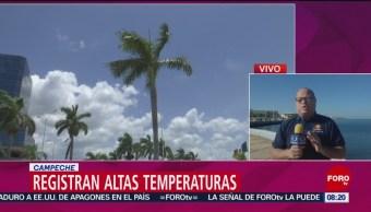 FOTO: Campeche registra altas temperaturas por un sistema anticiclónico, 9 marzo 2019