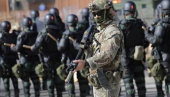 Foto:Agentes de la Patrulla Fronteriza y personal de Aduanas reciben capacitación por miembros del Ejército de EU, 7 marzo 2019