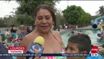 FOTO:Capitalinos aprovechan los balnearios que sobreviven en la CDMX, 18 Marzo 2019