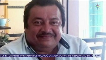 Capturan a autor material de homicidio de periodista en Veracruz