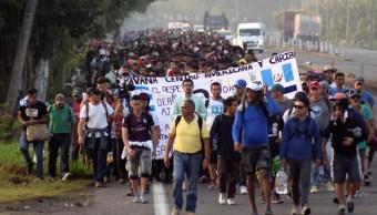 Avanza nueva caravana migrante de Chiapas a EEUU