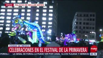 FOTO:Celebraciones en el Festival de la Primavera en CDMX, 23 Marzo 2019