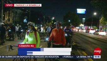 Foto: Ciclistas Mayor Seguridad Vialidades Álvaro Obregón Protesta 22 de Marzo 2019