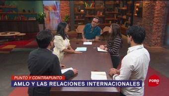 Foto: 100 Días Gobierno AMLO Relaciones Internacionales 14 de Marzo 2019