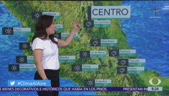 Clima Al Aire: Prevén lluvias fuertes y granizo en zonas oriente y sureste de México