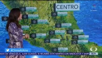 Clima Al Aire: Prevén lluvias nocturnas en Valle de México