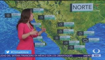 Clima Al Aire: Pronostican lluvias aisladas en el Valle de México