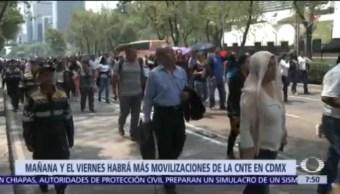 CNTE anuncia marchas en CDMX el 20 y 22 de marzo