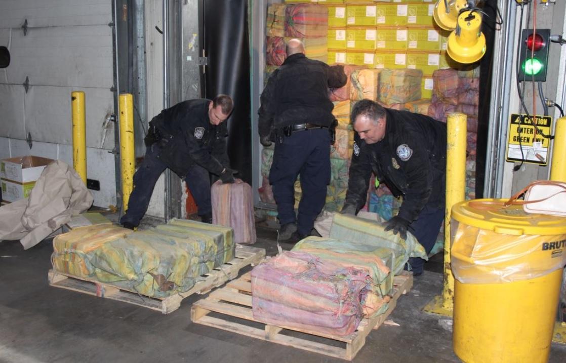 EEUU: Incautan el mayor cargamento de cocaína en Nueva York en los últimos 25 años