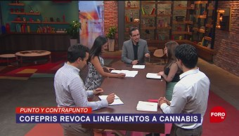 Foto: Cofepris Marcha Atrás Regulación Cannabis 28 de Marzo 2019