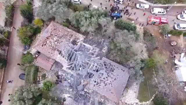 Cohete lanzado desde Gaza impacta en una casa de Israel y deja siete heridos