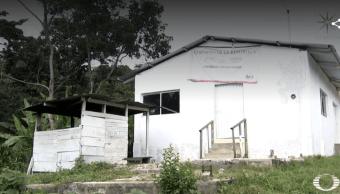 Foto: Comedor comunitario cerrado, 18 de marzo de 2019, Chiapas, México