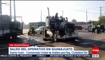 Cómo fue el operativo contra el huachicol en Guanajuato