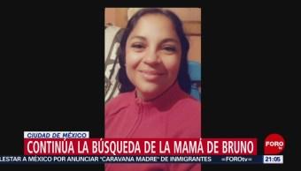 Foto: Continúa búsqueda de la mamá de Bruno