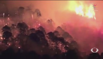 Foto: Incendio Bosque De Las Vigas Veracruz 12 de Marzo 2019