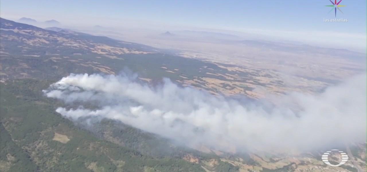 Foto: Controlan Incendio Forestal Las Vigas Veracruz 13 de Marzo 2019