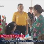 FOTO: Cordero, Sheinbaum y Müller visitan a internas de Tepepan, 8 marzo 2019