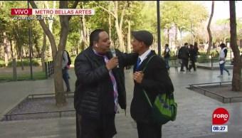 #CotorreandoconlaBanda: 'El Repor' suelto en la Alameda Central