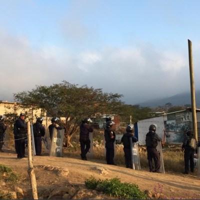 Hay 26 detenidos por desalojo de predio invadido en Chiapas