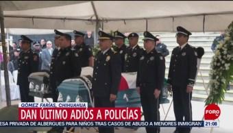 Foto: Policías Muertos Emboscada Chihuahua 11 de Marzo 2019
