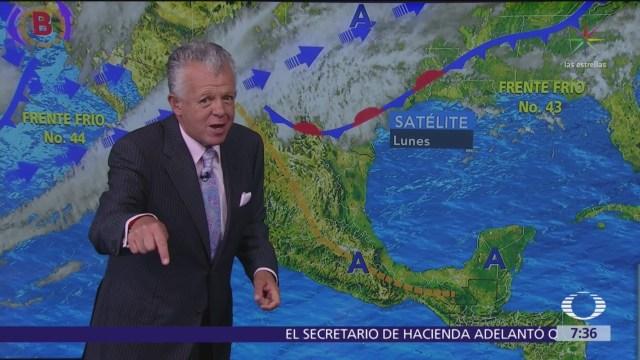 Despierta con Tiempo: Frente frío 44 provoca descenso de temperaturas
