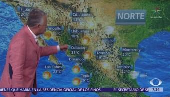 Despierta con Tiempo: Frente frío 44 provocará lluvias en México