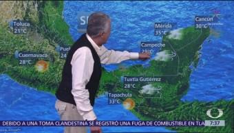 FOTO: Despierta con Tiempo: Prevén caída de aguanieve en Sonora, Chihuahua y Coahuila, 18 marzo 2019
