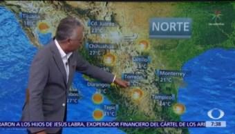 Despierta con Tiempo: Pronostican bancos de niebla en sierras de Nuevo León