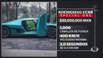 FOTO:Destrozan el único Koenigsegg CCXR Special One de México, 18 Marzo 2019