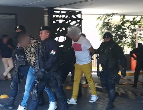 Detenidos Unión Tepito