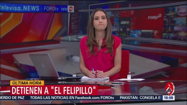 Foto: Detienen a 'El Felipillo', hijo del exlíder del Cártel de Tláhuac