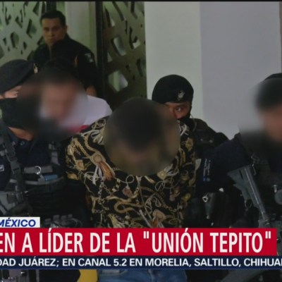 Detienen en alcaldía Álvaro Obregón a líder de la 'Unión Tepito'