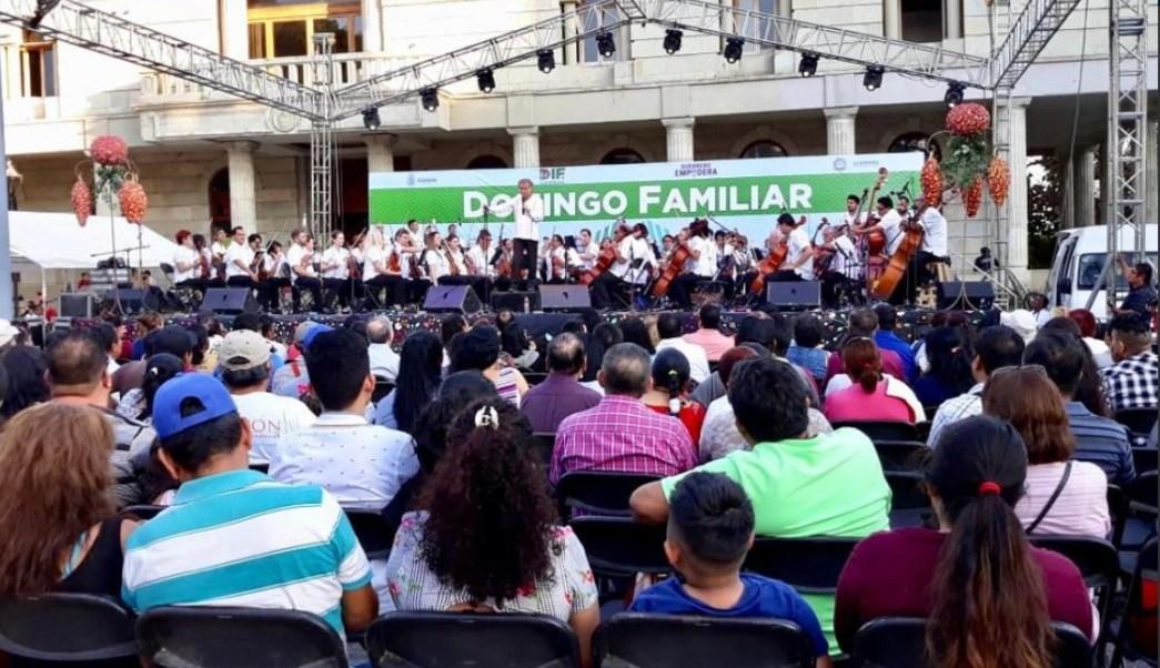 Guerrerenses disfrutan del Domingo familiar, en Chilpancingo