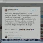 Foto: Donald Trump acusa a México de ser omiso ante migración y narcotráfico