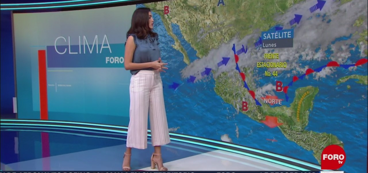 FOTO: El Clima 'A las Tres' con Daniela Álvarez [18-03-2019], 18 marzo 2019