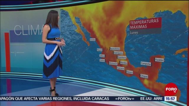 FOTO: El Clima 'A las Tres' con Daniela Álvarez, 25 marzo 2019