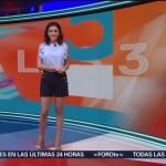 Foto: El Clima 'A las Tres' con Daniela Álvarez del 15 de marzo de 2018