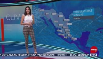 Foto: Cielo nublado, nieblas y lluvias con acumulados fuertes en los estados de la vertiente oriental del país, así como evento de 'norte' en el Istmo de Tehuantepec, informa la Conagua