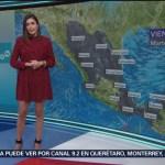 Foto: El Clima 'A las Tres' con Dianela Álvarez del 5 de marzo de 2019
