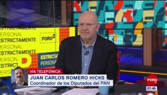 El diálogo siempre será bien recibido con la CNTE, dice Romero Hicks