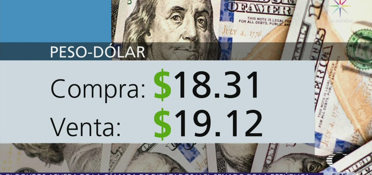 El dólar se vende en $19.12