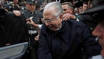 Foto: El exsacerdote Fernando Karadima, 11 de noviembre del 2015, Santiago