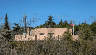 Foto Embajada de Corea del Norte en Madrid, 13 de marzo de 2019, España
