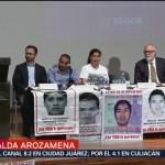 Foto: Empieza nueva etapa en investigación por Ayotzinapa