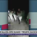 Enfrentamiento entre soldados y presuntos huachicoleros en Hidalgo dejan un muerto