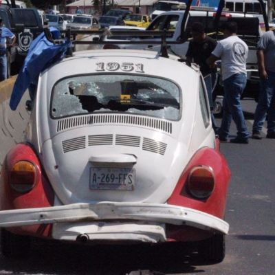 Mueren 4 extorsionadores de sitio de taxis en enfrentamiento en Acapulco, Guerrero