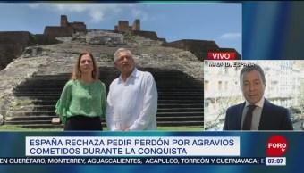 España rechaza pedir perdón por agravios cometidos durante la Conquista