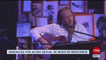 Foto: Denuncias Acoso Sexual Músicos Mexicanos 29 de Marzo 2019