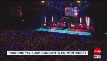 """#EspectáculosenExpreso: Pospone """"El Buki"""" concierto en Monterrey"""